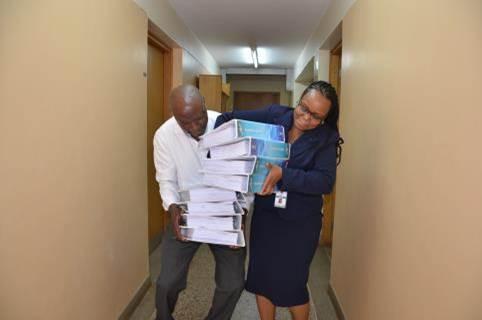 Board papers... bye bye